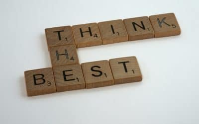 scrabble letters that spell think the best