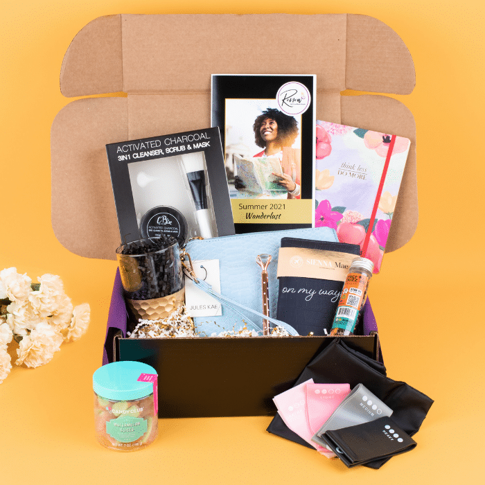 Summer 2021 Renew Box bursting with self-care products inspired by travel